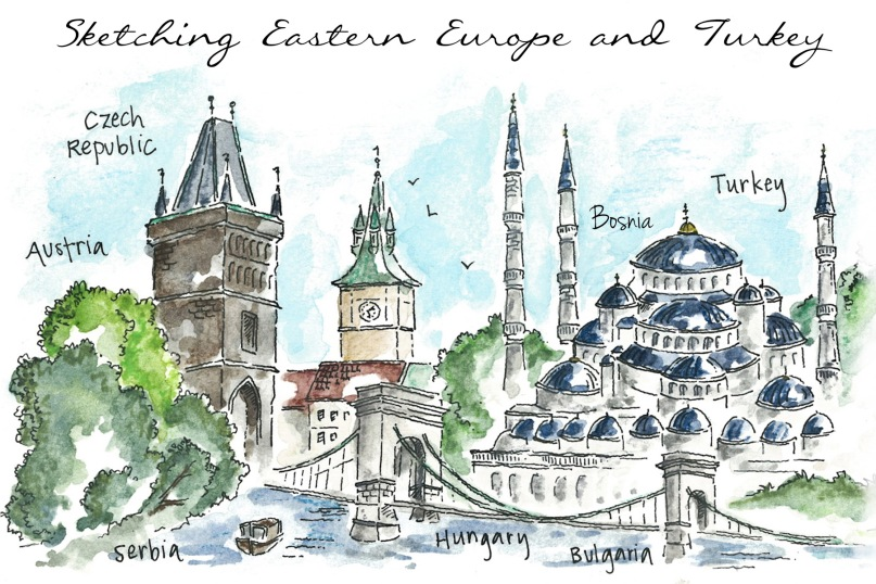 Easter Europe and Turkey - by Candace Rose Rardon