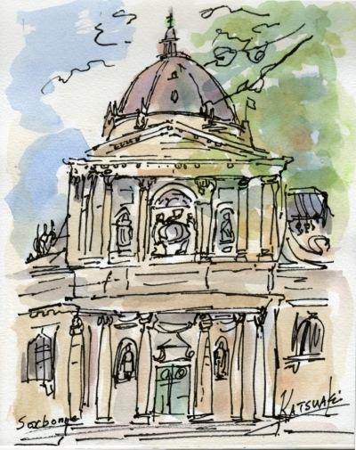 Sorbonne - by Katsuaki Sato
